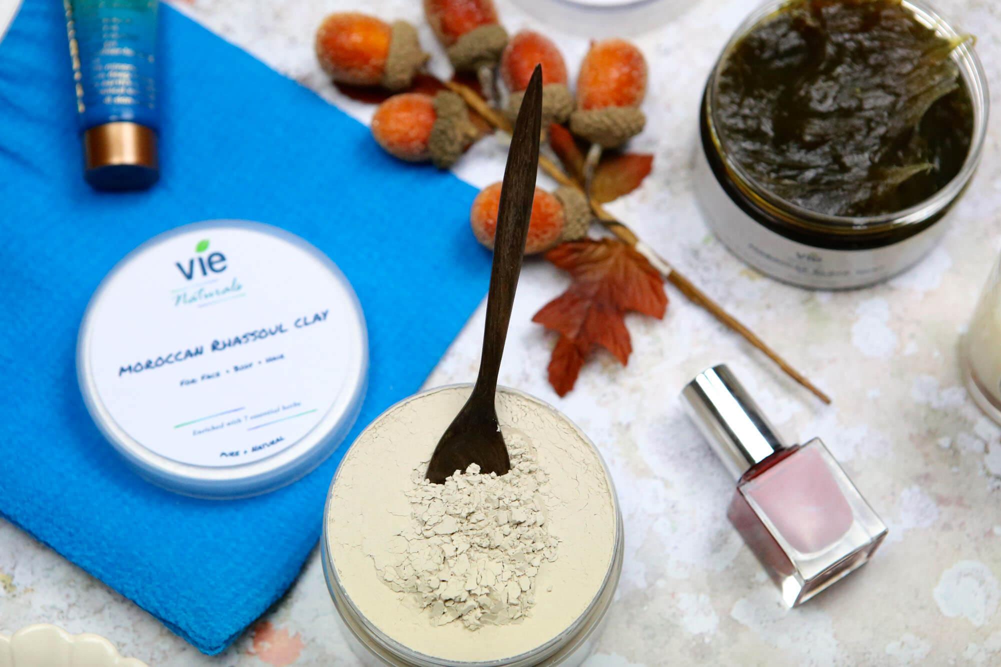 Birthday pampering essentials- Clay mask