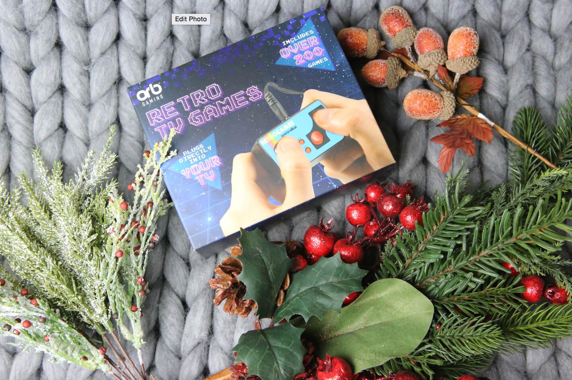 Christmas retro games