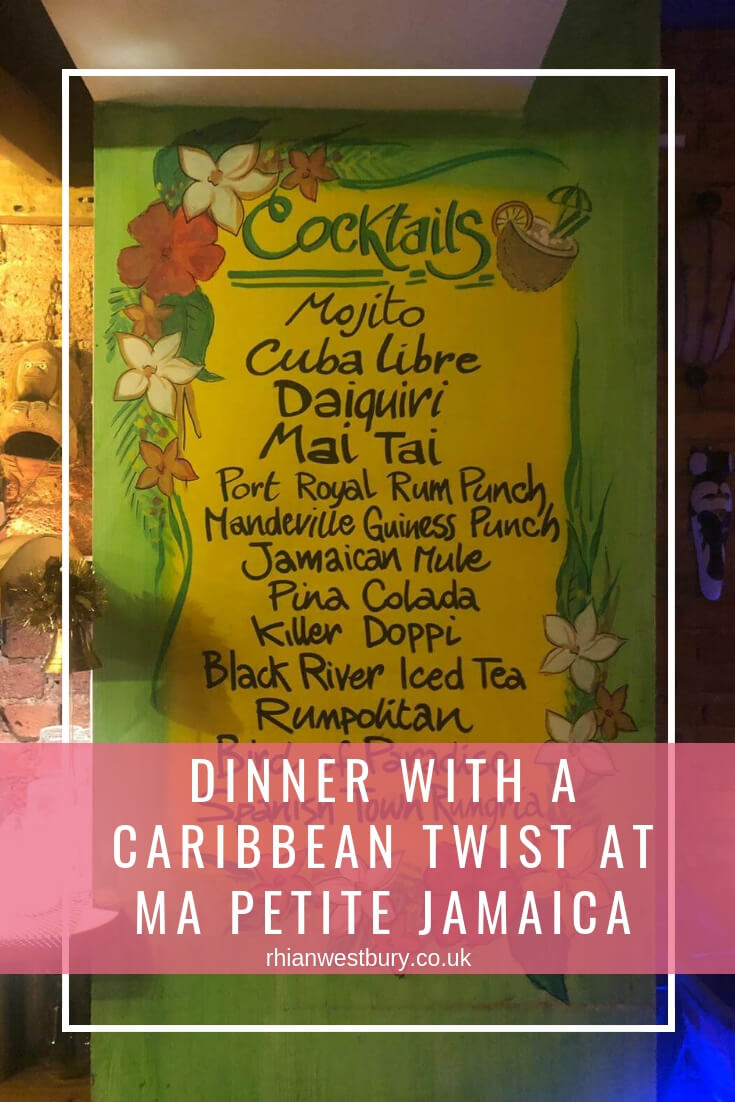 Dinner With A Caribbean Twist At Ma Petite Jamaica