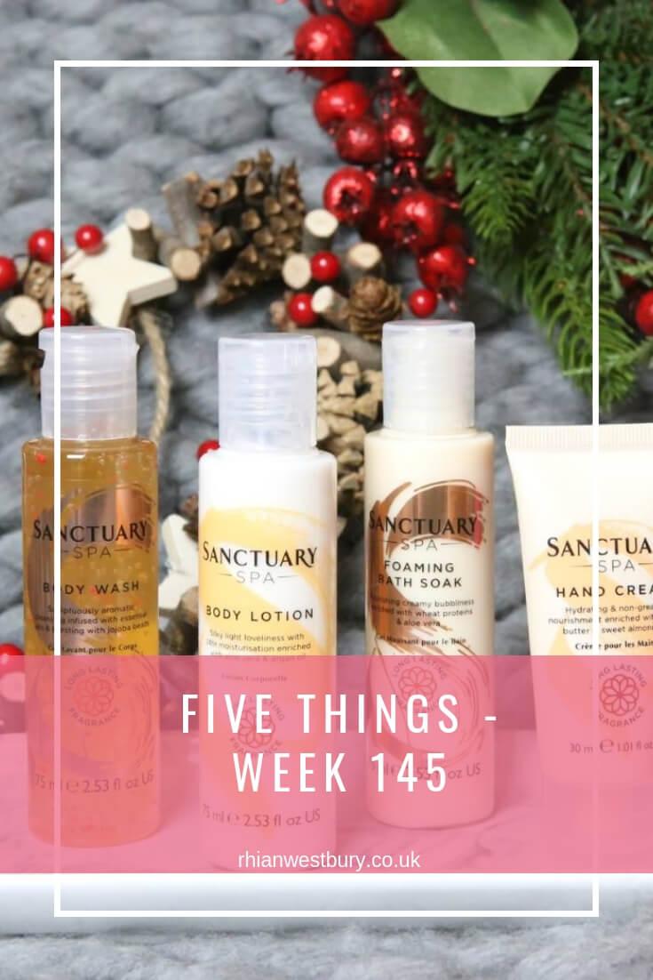 Five Things - Week 145
