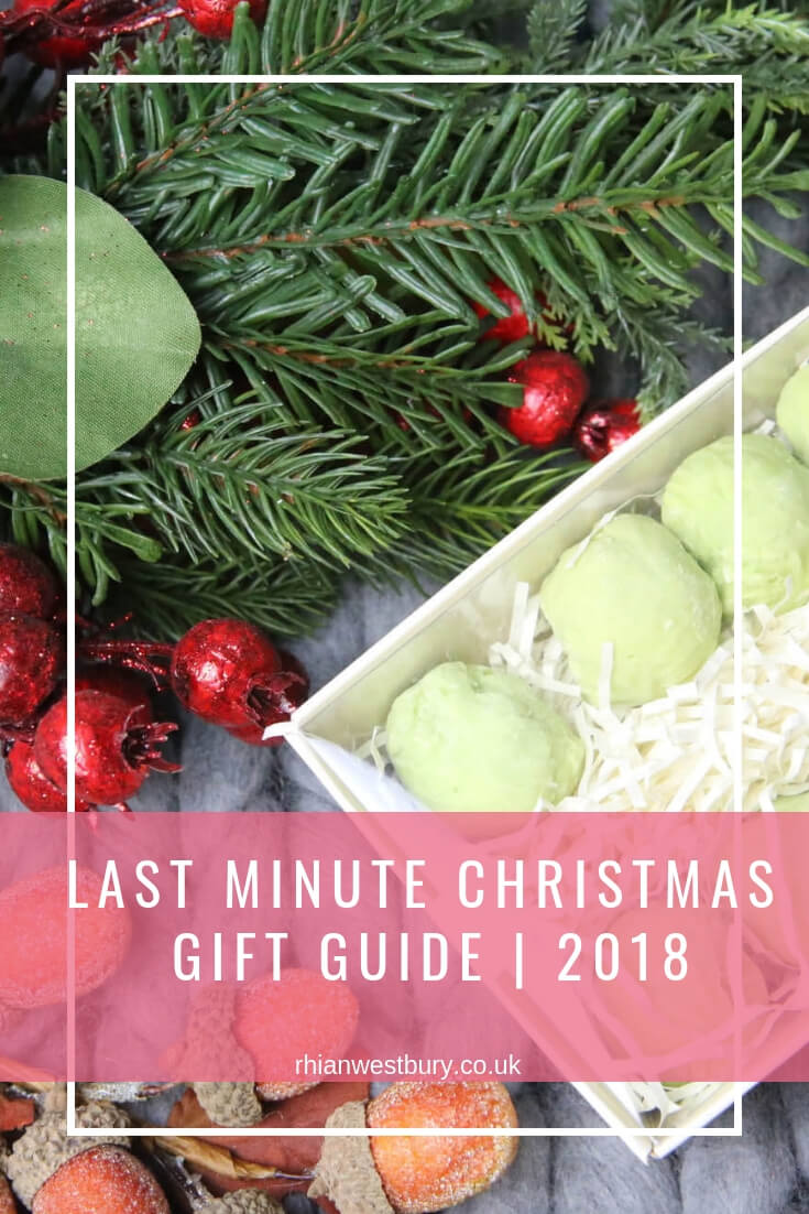 Last Minute Christmas Gifts _ 2018