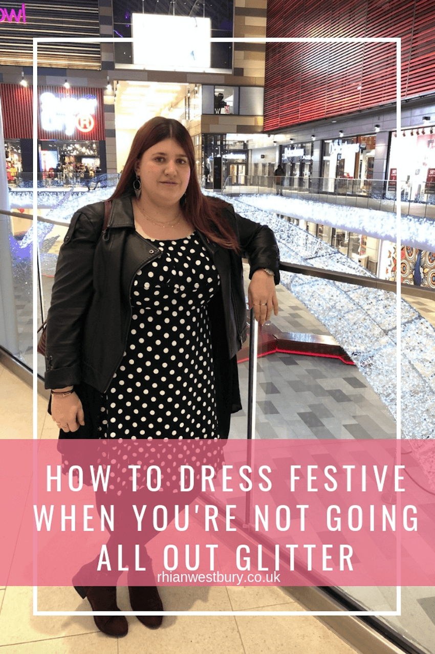 How To Dress Festive When You're Not Going All Out Glitter