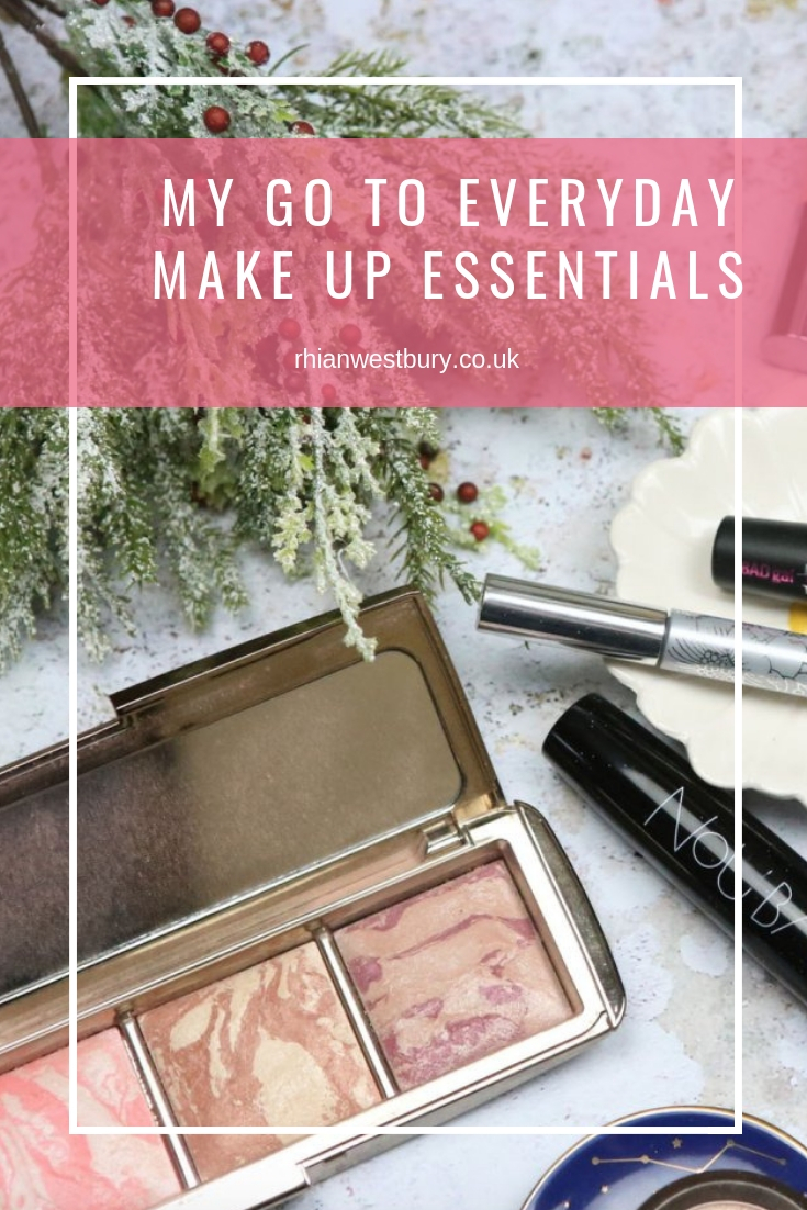 My Go To Everyday Make Up Essentials